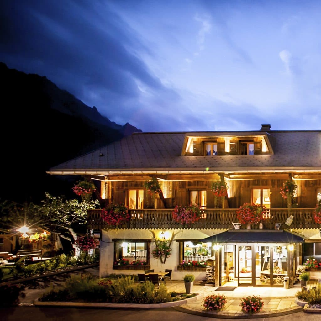 Auberge du manoir hôtel Chamonix